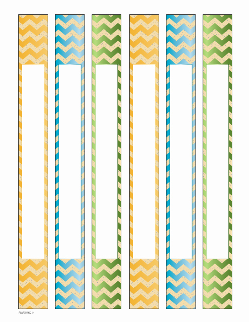 1 Binder Spine Template Lovely Binder Spine Inserts Chevron Printables