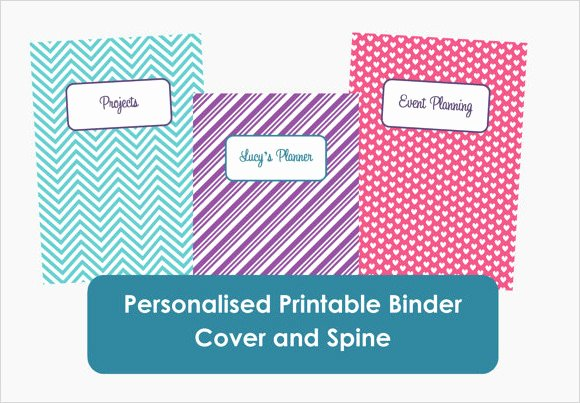 1 Binder Spine Template Luxury Free 5 Sample Binder Spine Templates In Pdf
