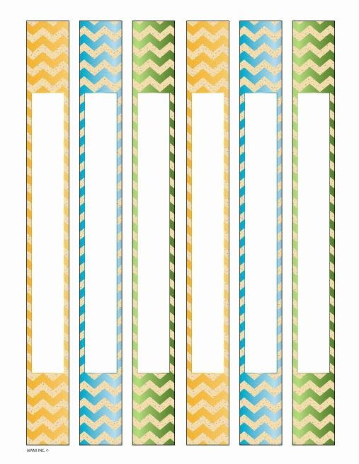 2 Inch Binder Spine Template Beautiful Binder Spine Inserts Chevron Printables