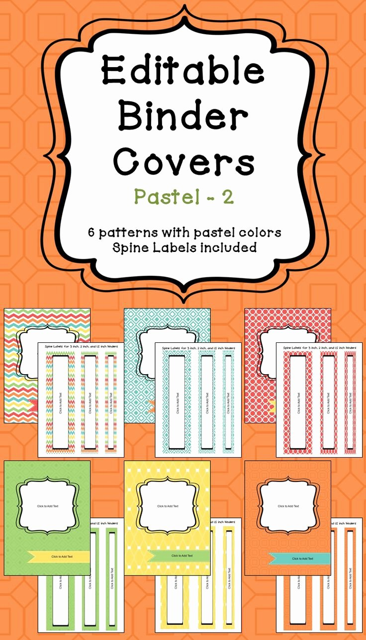 2 Inch Binder Spine Template Best Of Ly Best 25 Ideas About Binder Spine Labels On Pinterest
