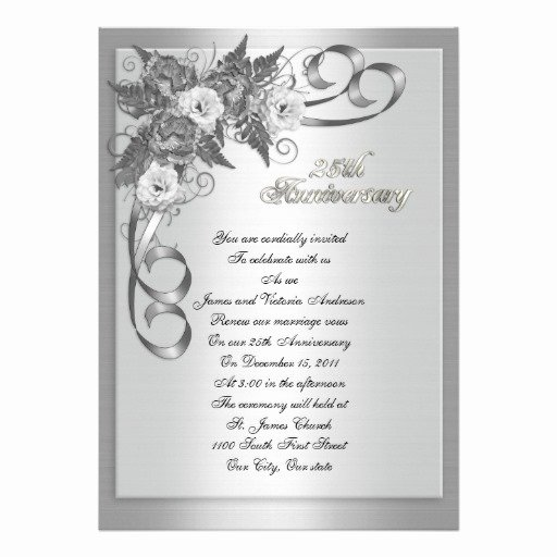 25th Wedding Anniversary Invitations Templates Lovely 25th Wedding Anniversary Quotes In Spanish Image Quotes at