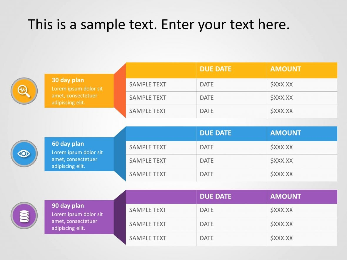 30 60 90 Plan Templates Lovely 30 60 90 Day Plan Powerpoint Template 21