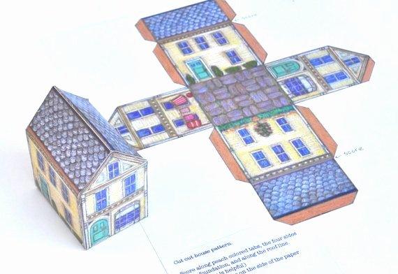 3d Paper Building Templates Beautiful 1000 Images About Putz Houses On Pinterest
