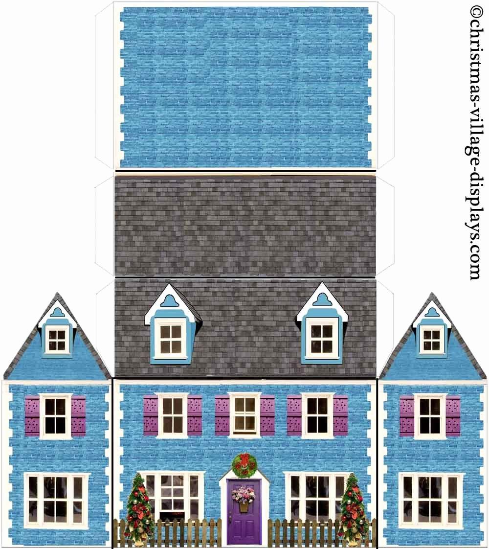 3d Paper Building Templates Beautiful Bluebell Cottage Jpeg Image 1000 × 1122 Pixels