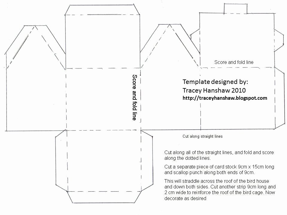 3d Paper Building Templates Best Of Best S Of Bird House Templates Printable Free