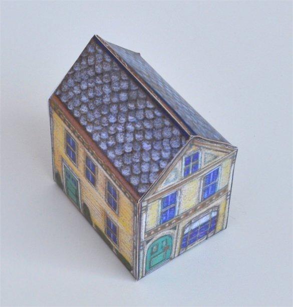 3d Paper Building Templates Elegant 14 Paper House Templates – Free Sample Example format