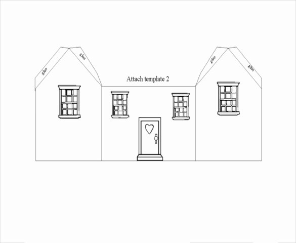 3d Paper Building Templates Inspirational Gingerbread Roof Template & after I Baked the Gingerbread