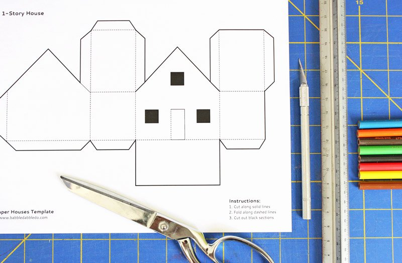 3d Paper Building Templates Lovely 8 Best Of 3d Printable House Templates 3d House