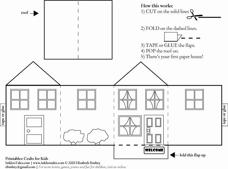 3d Paper Building Templates Luxury 187 Best Putz & Glitter House Plans Images On Pinterest