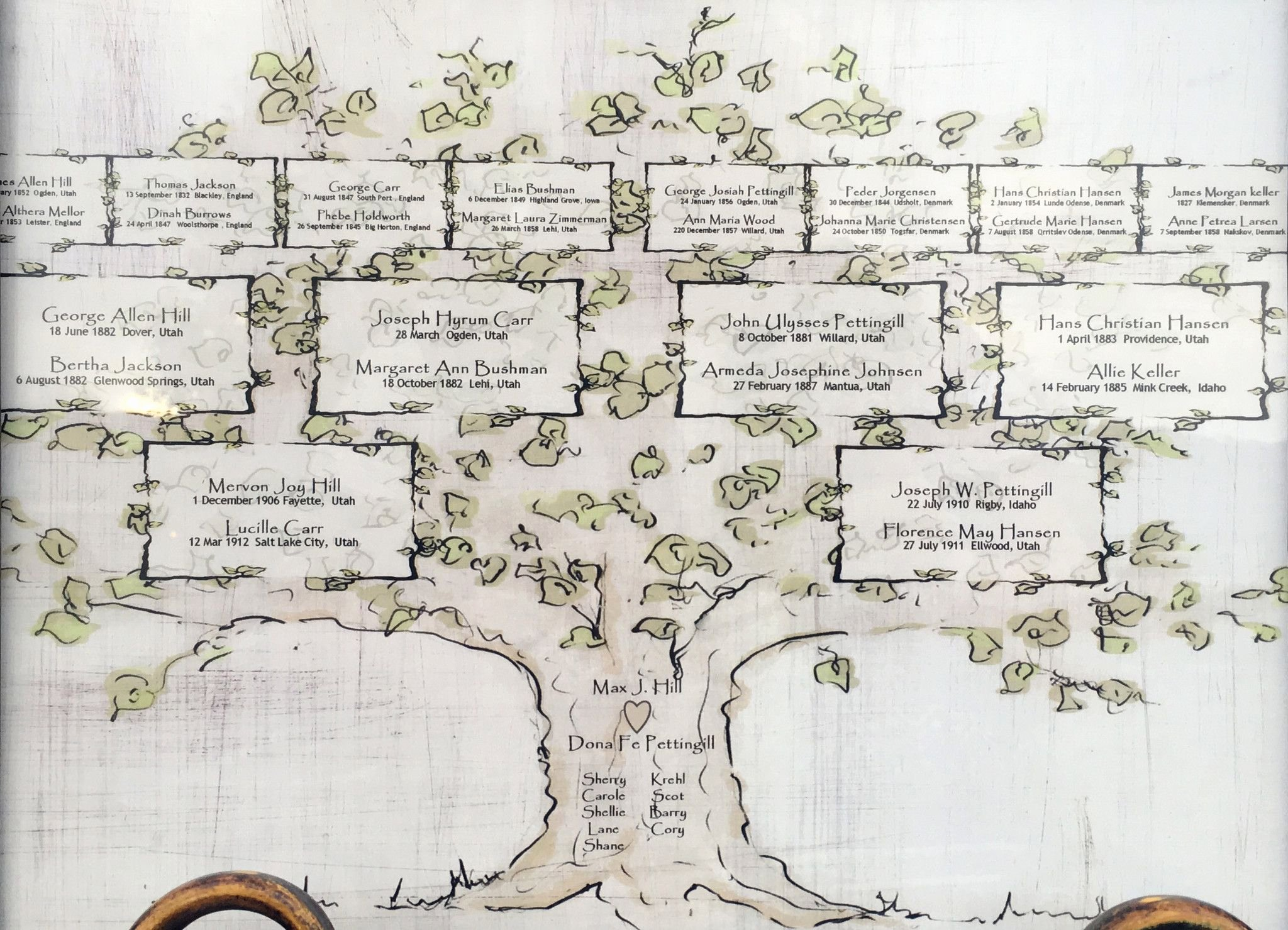 4 Generation Family Tree Templates Lovely Personalized 4 Generation Family Tree
