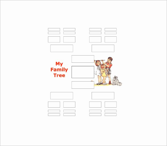 5 Generation Family Tree Template Unique Five Generation Family Tree Template – 11 Free Word