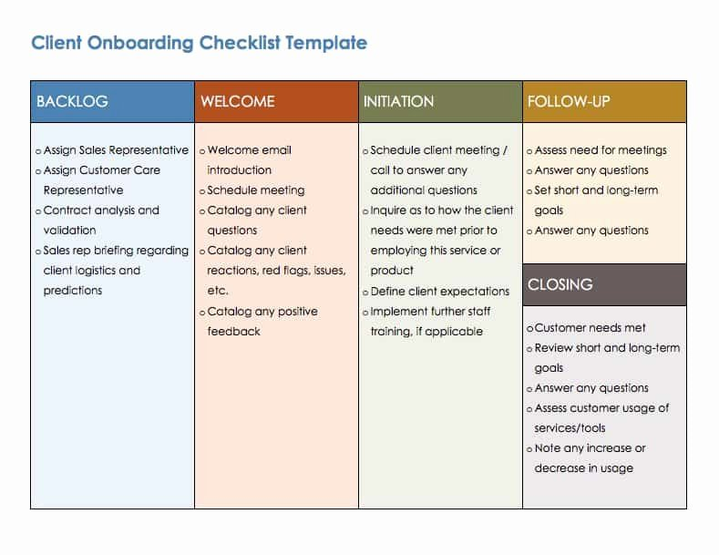 90 Day Onboarding Plan Template New Free Boarding Checklists and Templates