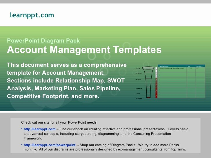 Account Management Plan Template Best Of Account Management Template