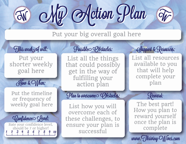 Action Plan Template for Students Awesome Cute Free Printable Action Plan Template From Thriving