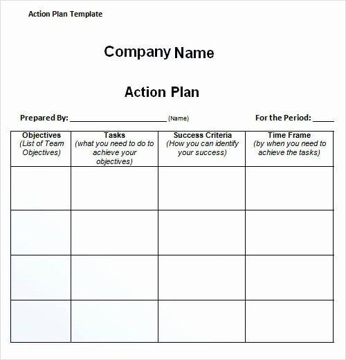 Action Plan Template for Students Best Of Sample Plan Template 26 Download Free Documents In Pdf
