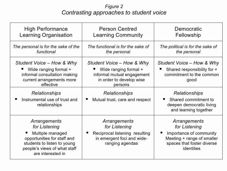 Action Plan Template for Students New Rifop Michael Fielding Student Voice and Inclusive