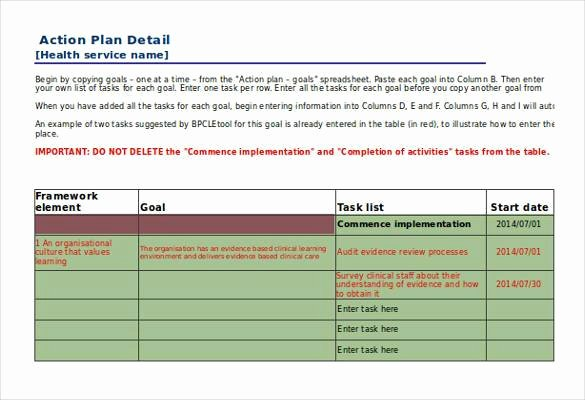 Action Plan Templates Excel Best Of 90 Action Plan Templates Word Excel Pdf Apple Pages