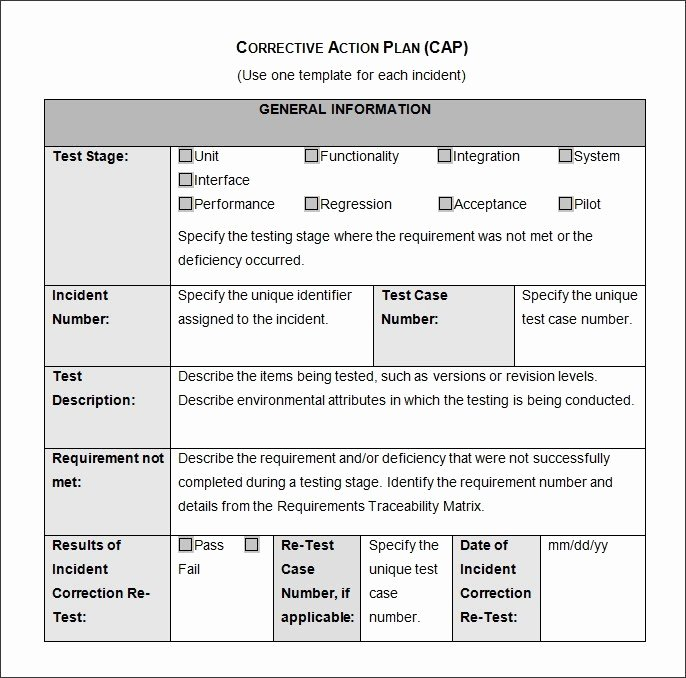 Action Plan Templates Excel Luxury Corrective Action Plan – Emmamcintyrephotography