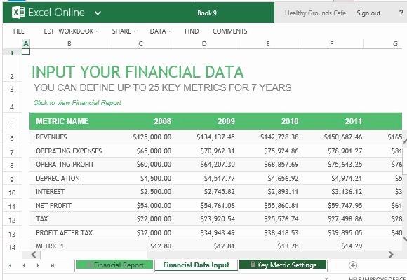 Annual Financial Report Template Beautiful Annual Financial Report Template for Excel Line