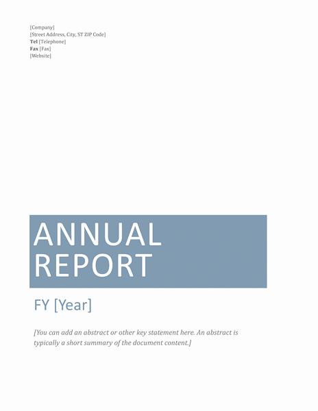 Annual Financial Report Template Beautiful Annual Financial Report Template Microsoft Word Templates