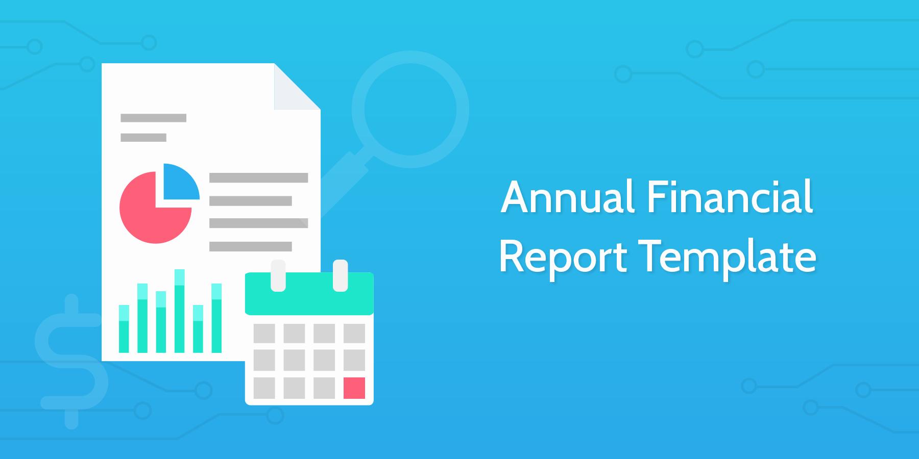 Annual Financial Report Template Fresh Annual Financial Report Template