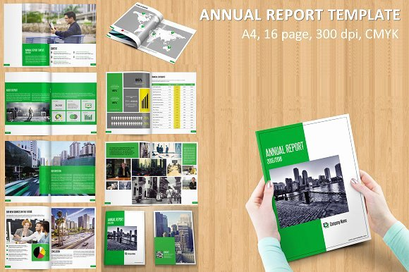 Annual Financial Report Template New Annual Report Template V115 Brochure Templates On