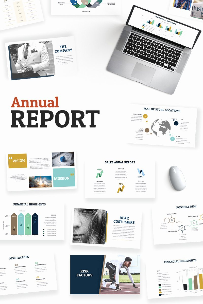 Annual Financial Report Template Unique Annual Report Powerpoint Template