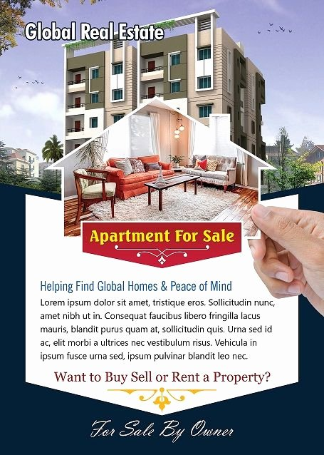 Apartment Flyers Free Templates Luxury Apartment for Sale Flyer Free Flyer Designs