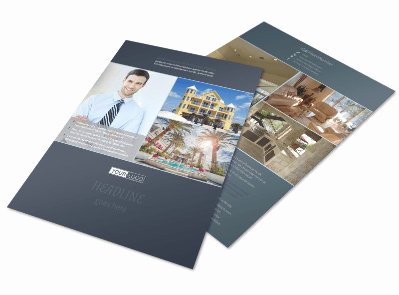 Apartment Flyers Free Templates Luxury Condominium Plex Flyer Template