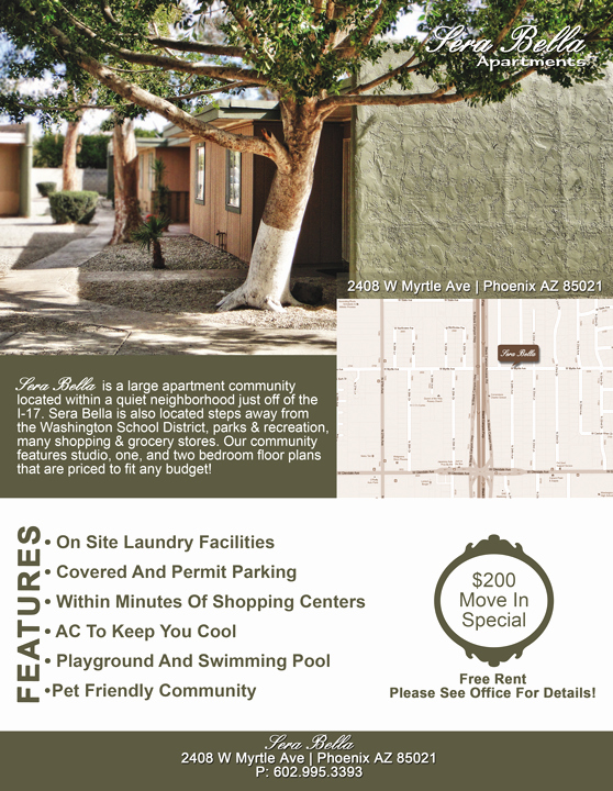 Apartment for Rent Flyer Template Awesome Print Design Los Angeles Cre8ive Design Studio