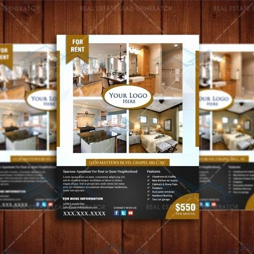 Apartment for Rent Flyer Template Best Of for Rent Real Apartment Listing Design Template Instant
