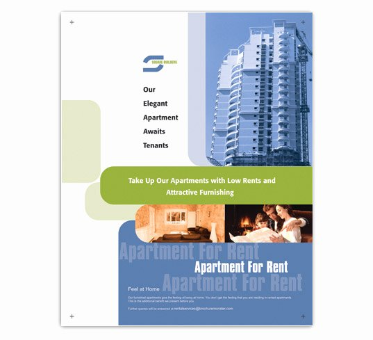 Apartment for Rent Flyer Template Lovely Low Rent Apartment Flyer Templates