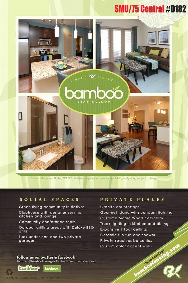 Apartment for Rent Flyer Template Luxury Student Housing Development Under Construction Marketing