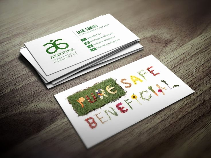 Arbonne Business Cards Template Beautiful 7 Best Arbonne Business Cards Images On Pinterest