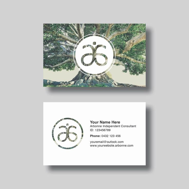 Arbonne Business Cards Template Beautiful Arbonne Business Card Circle Of Life Digital Design