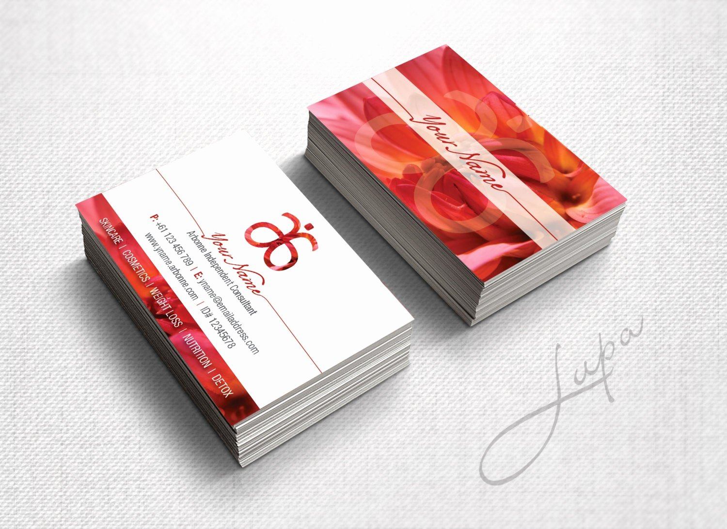 Arbonne Business Cards Template Beautiful Arbonne Business Cards 09 Personalised Digital Files