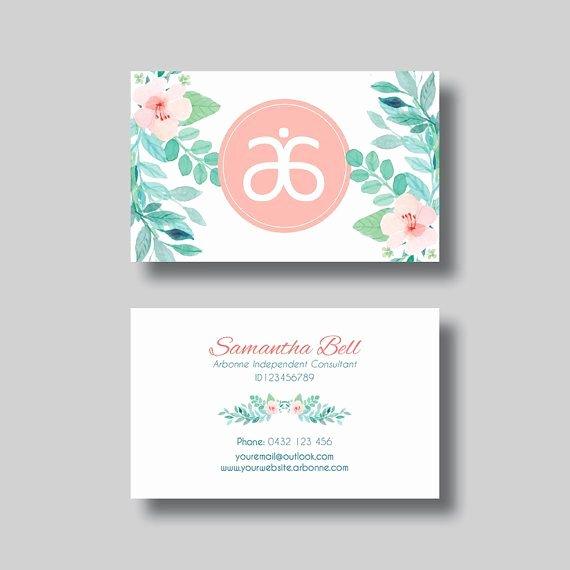 Arbonne Business Cards Template Best Of 7 Best Arbonne Business Cards Images On Pinterest