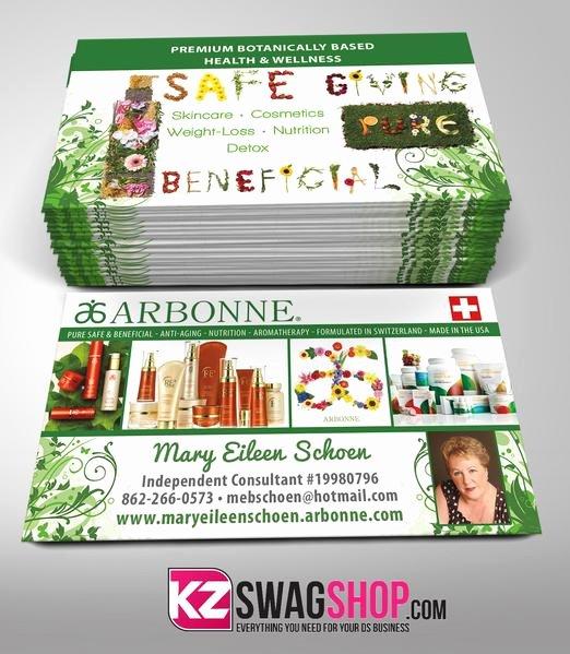 Arbonne Business Cards Template Luxury Arbonne Business Cards Style 2 – Kz Swag Shop