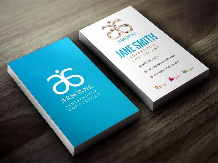 Arbonne Business Cards Template New 7 Best Arbonne Business Cards Images On Pinterest