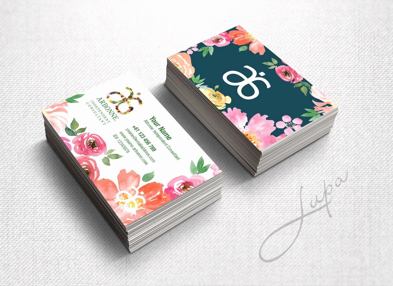 Arbonne Business Cards Template Unique Arbonne Business Cards 06 Digital Files Supplied Only