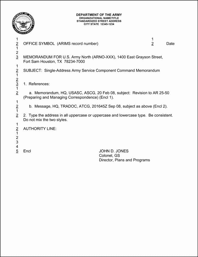 Army Memorandum for Record Template Elegant Best S Of Army Memorandum Template Word Example