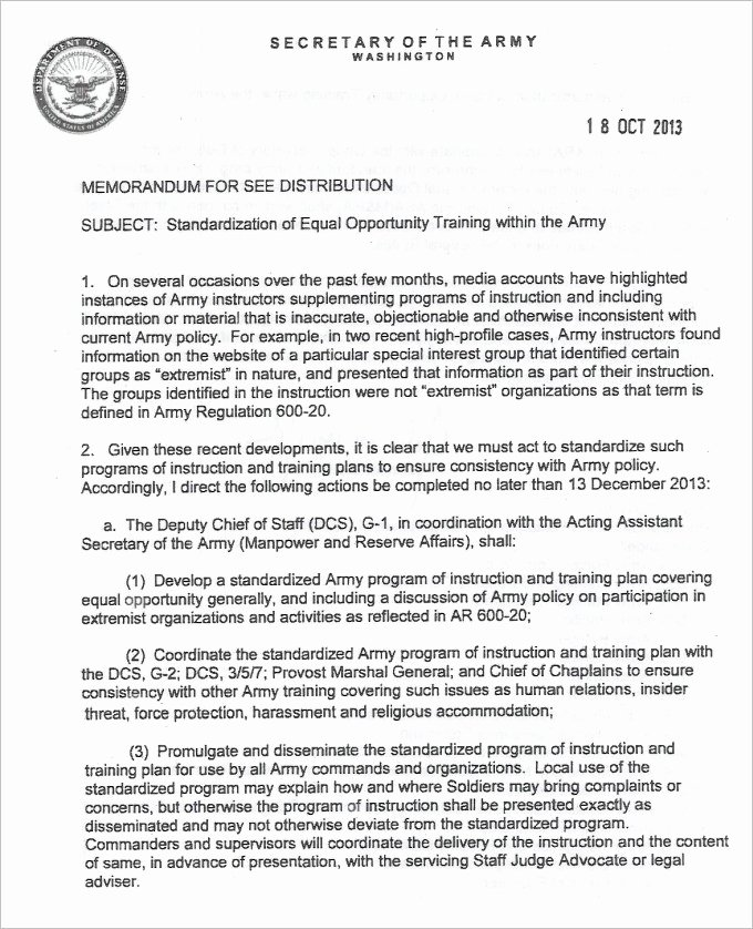 Army Memorandum for Record Template Inspirational 24 Of Navy Exsum Template Word