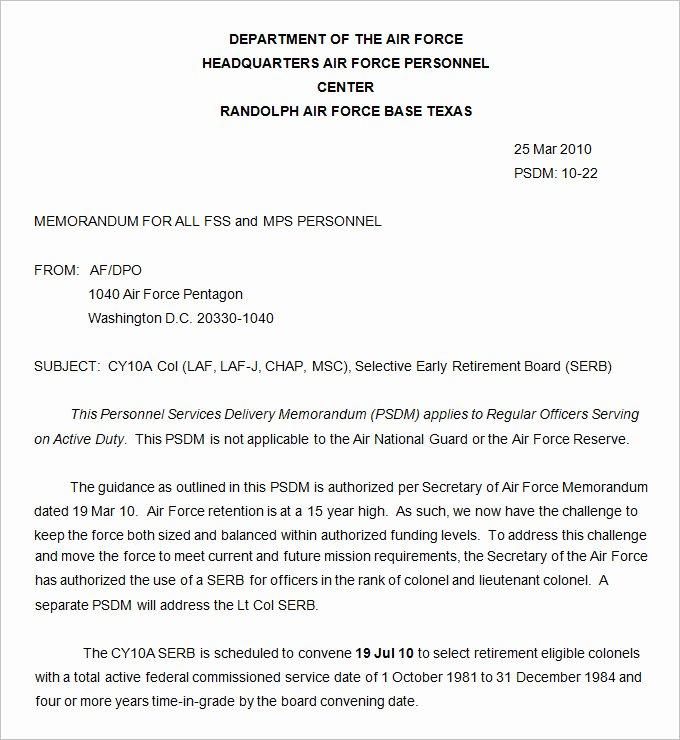 Army Memorandum for Record Template Inspirational Army Memorandum Template 4 Word Pdf Google Docs