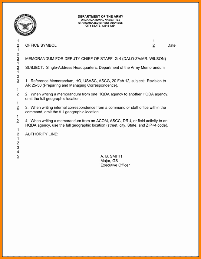 Army Memorandum for Record Template Lovely 6 Memorandum for Record Army
