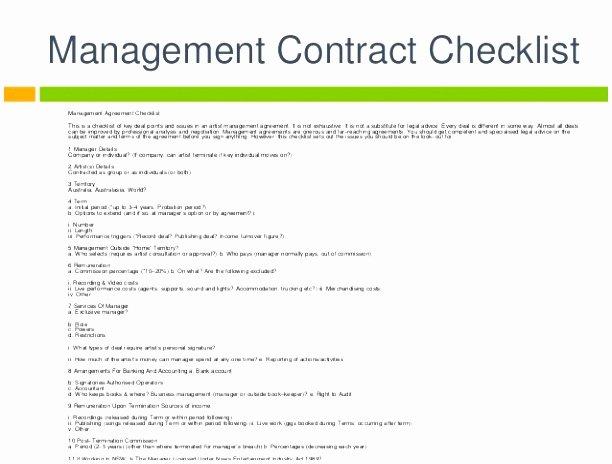 Artist Management Contract Template Unique 6 Artist Management Contract Template Spqpe