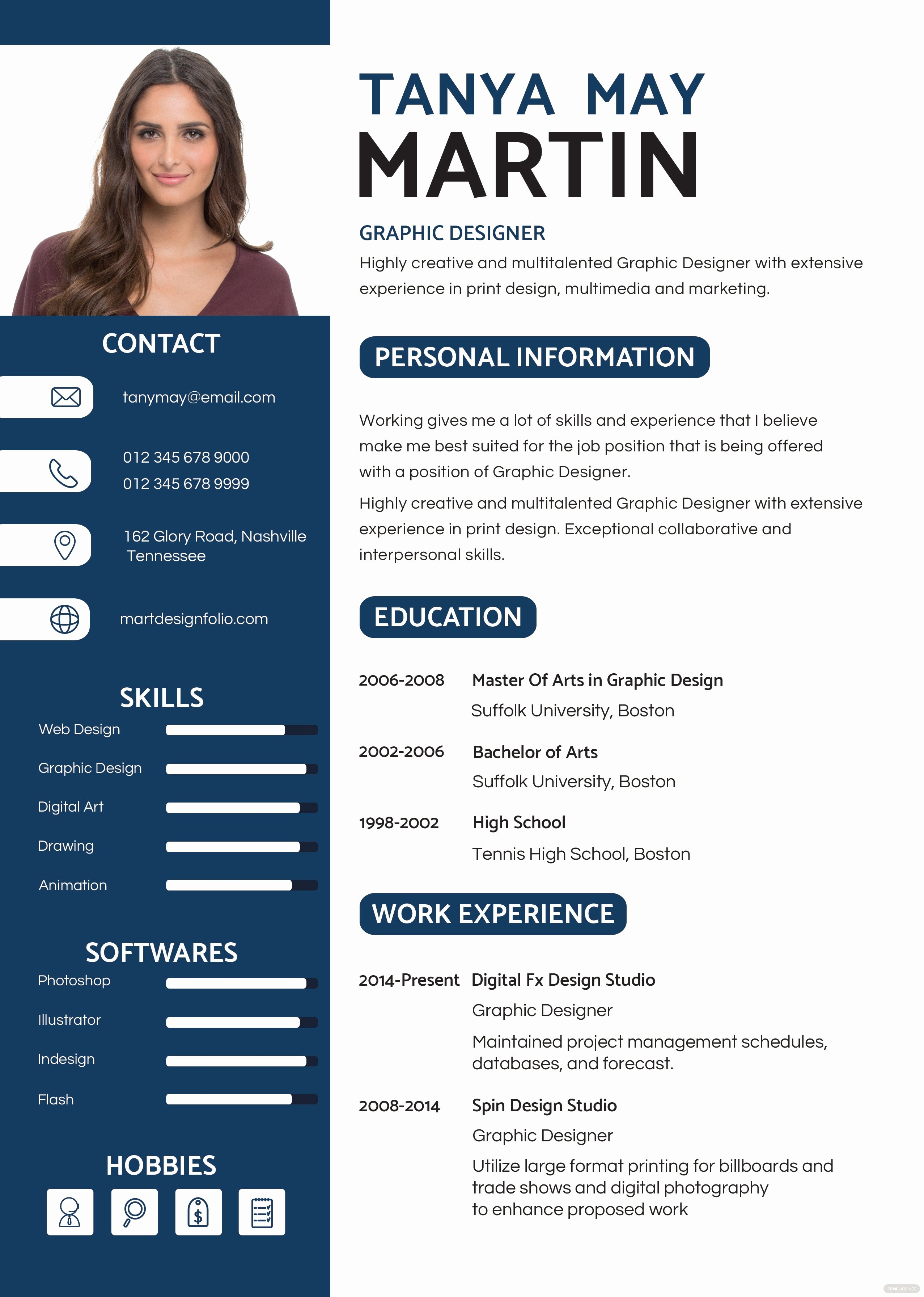 Artist Resume Template Word Fresh Free Professional Resume and Cv Template In Psd Ms Word