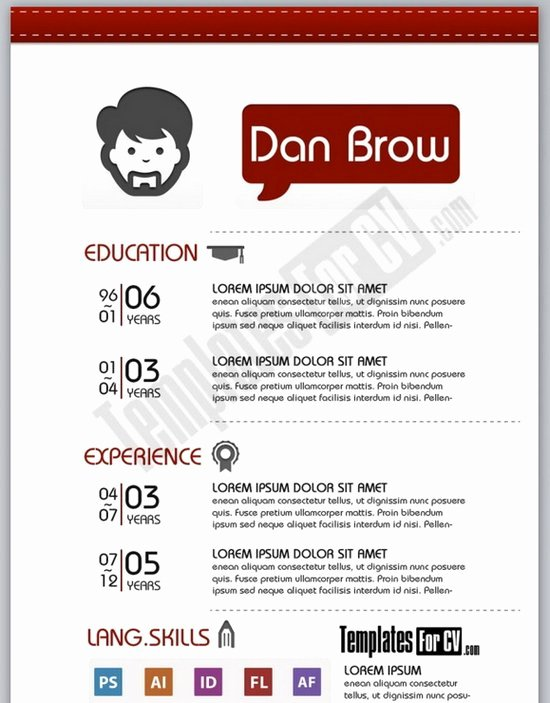Artist Resume Template Word Inspirational Download 35 Free Creative Resume Cv Templates Xdesigns