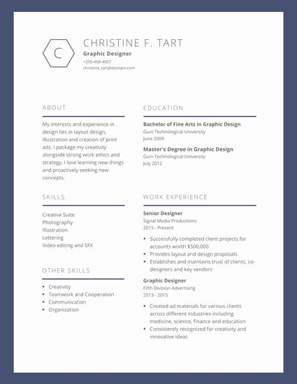Artist Resume Template Word Inspirational Established Visual Artist Resume Templates by Canva