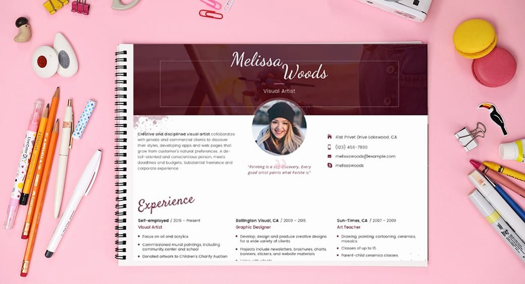 Artist Resume Template Word Luxury Resume Templates In Word format Simple Guide and Ready