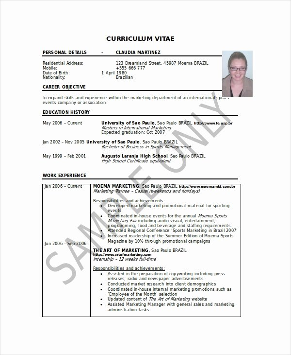 Artist Resume Template Word Unique Artist Resume Template 7 Free Word Pdf Document